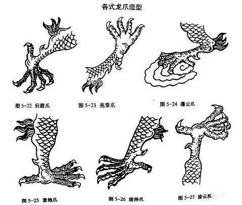 雅韵网---龙的画法步骤解析,值得收藏!
